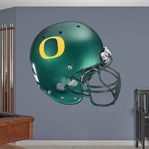 Oregon Ducks Helmet Fathead Wall Decal