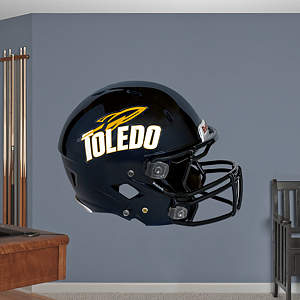 Toledo Rockets Helmet Fathead Wall Decal