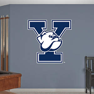 Yale Bulldogs Logo Fathead Wall Decal