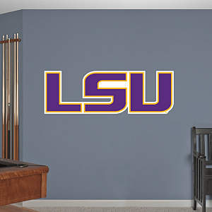 LSU Tigers Logo Fathead Wall Decal