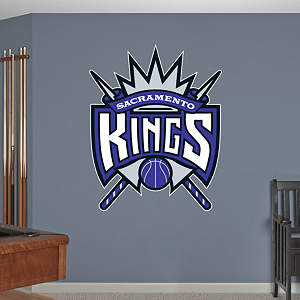 Sacramento Kings Logo Fathead Wall Decal