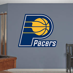 Indiana Pacers Logo Fathead Wall Decal