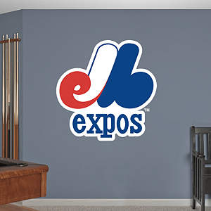 Montreal Expos Classic Logo Fathead Wall Decal
