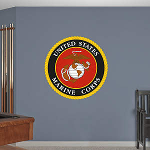 USMC Seal Fathead Wall Decal