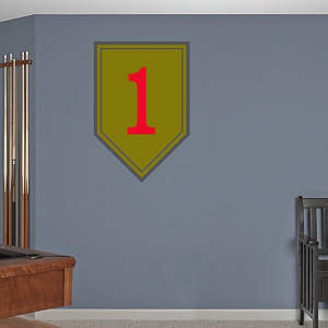 1st Infantry Insignia Fathead Wall Decal
