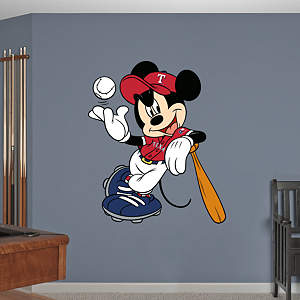Mickey Mouse - Texas Ranger Fathead Wall Decal
