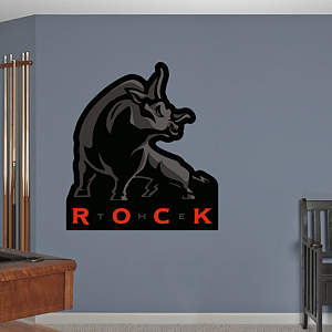 The Rock Logo Fathead Wall Decal