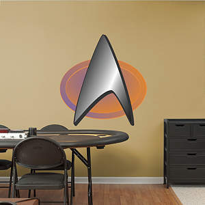 Star Trek: The Next Generation Insignia Fathead Wall Decal