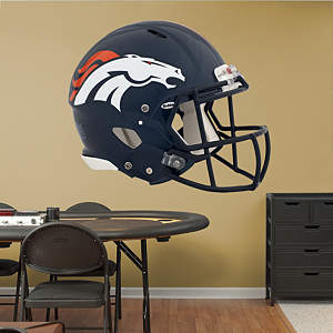 Denver Broncos Helmet Fathead Wall Decal