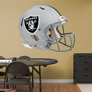 Oakland Raiders Helmet Fathead Wall Decal