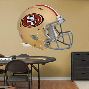 San Francisco 49ers Helmet Fathead Wall Decal