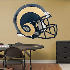 St. Louis Rams Helmet Fathead Wall Decal