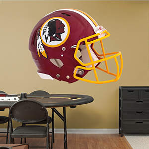 Washington Redskins Helmet Fathead Wall Decal