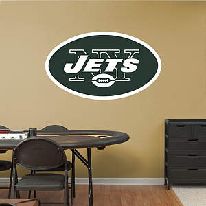 New York Jets Logo Fathead Wall Decal