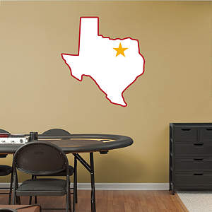 Dallas Texans Original AFL Logo Fathead Wall Decal