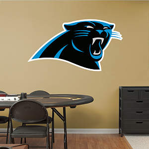 Carolina Panthers Logo Fathead Wall Decal