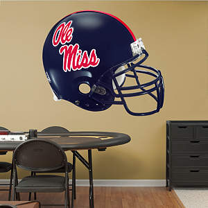 Ole Miss Rebels Helmet Fathead Wall Decal