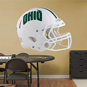 Ohio Bobcats Helmet Fathead Wall Decal