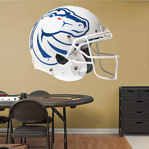Boise State Broncos 2013 White Helmet Fathead Wall Decal