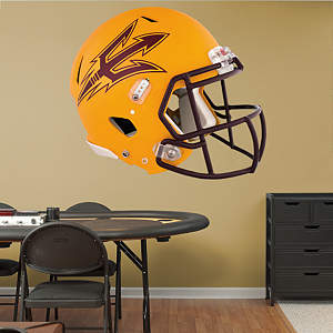 Arizona State Sun Devils Gold Helmet Fathead Wall Decal