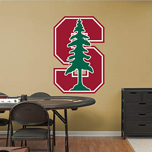 Stanford Cardinal Logo Fathead Wall Decal