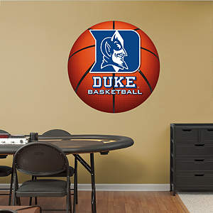 Duke Blue Devils Basketball Logo Fathead Wall Decal