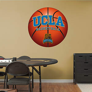 UCLA Bruins Basketball Logo Fathead Wall Decal