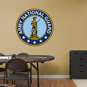 Army National Guard Seal Fathead Wall Decal