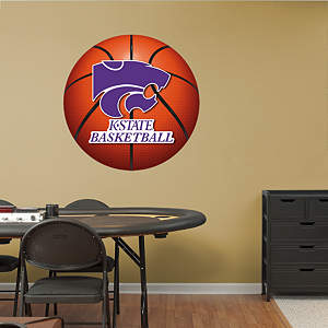 Kansas State Wildcats Basketball Logo Fathead Wall Decal