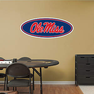 Ole Miss Rebels Logo Fathead Wall Decal