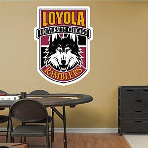 Loyola Chicago Ramblers Alternate Logo Fathead Wall Decal