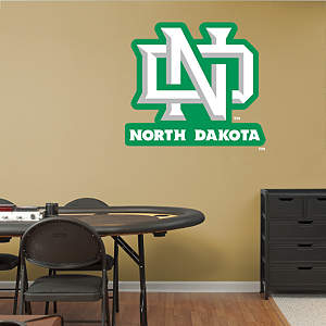 University of North Dakota Logo Fathead Wall Decal