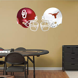 Texas - Oklahoma Rivalry Pack Fathead Wall Decal