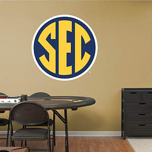SEC Logo Fathead Wall Decal