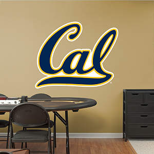 Cal Golden Bears Logo Fathead Wall Decal