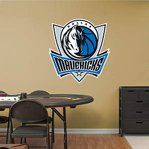 Dallas Mavericks Logo Fathead Wall Decal