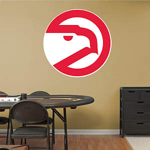 Atlanta Hawks Classic Logo Fathead Wall Decal