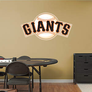 San Francisco Giants Logo Fathead Wall Decal