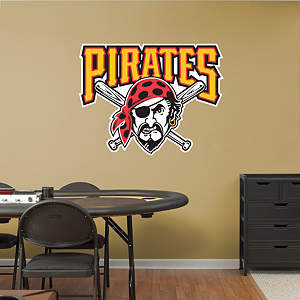 Pittsburgh Pirates Alternate Logo Fathead Wall Decal