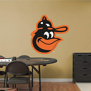 Baltimore Orioles Alternate Logo Fathead Wall Decal