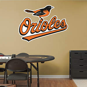 Baltimore Orioles Logo Fathead Wall Decal