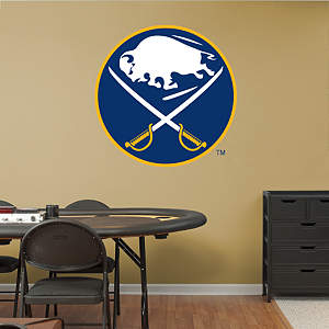 Buffalo Sabres Vintage Logo Fathead Wall Decal