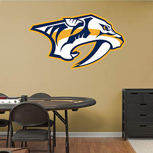 Nashville Predators Logo Fathead Wall Decal