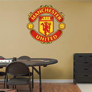 Manchester United Crest Fathead Wall Decal