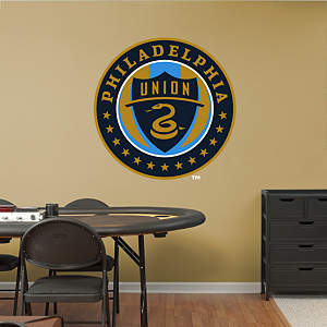 Philadelphia Union Logo Fathead Wall Decal