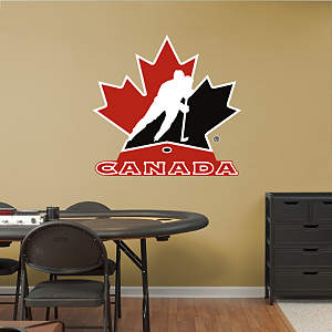 Team Canada Logo Fathead Wall Decal