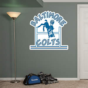 Baltimore Colts Classic Logo Fathead Wall Decal