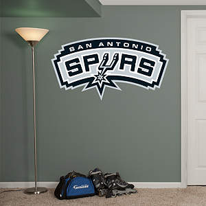 San Antonio Spurs Logo Fathead Wall Decal