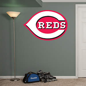 Cincinnati Reds Logo Fathead Wall Decal
