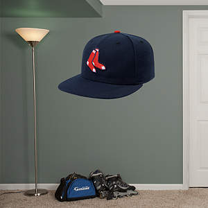 Boston Red Sox Alternate Cap Fathead Wall Decal